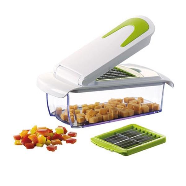 Coupe l gumes 2 grilles de d coupe kitchen artist cadeau - Coupe legumes manuel professionnel ...