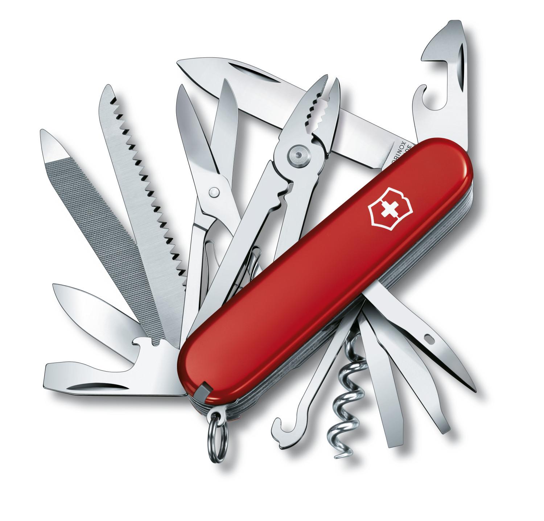 Couteaux suisses Victorinox avec lampe publicitaire