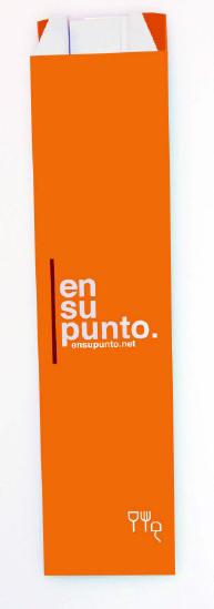 Couverts en plastique avec logo