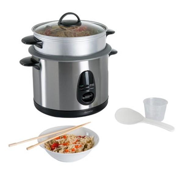 Cuiseur riz et vapeur domoclip cadeau publicitaire en vente au prix grossiste - Riz au cuiseur vapeur ...