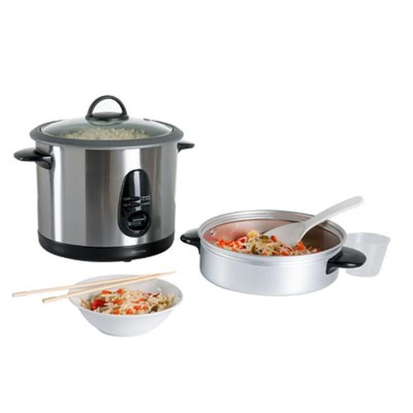 Cuiseur riz et vapeur domoclip cadeau publicitaire en vente au prix grossiste doc100 - Riz au cuiseur vapeur ...