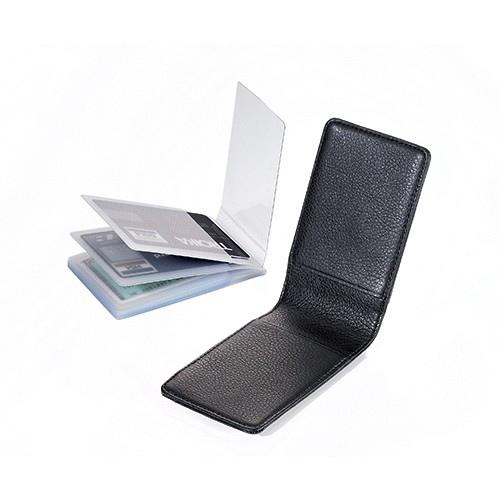 Etui pour cartes de cr dit avec pochette plastique - Pochette plastique pour carte postale ...