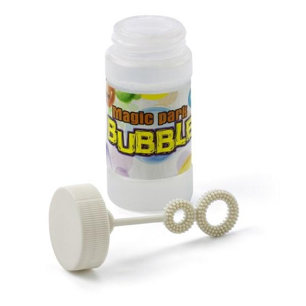 Jeux et tubes de bulles de savon avec marquage