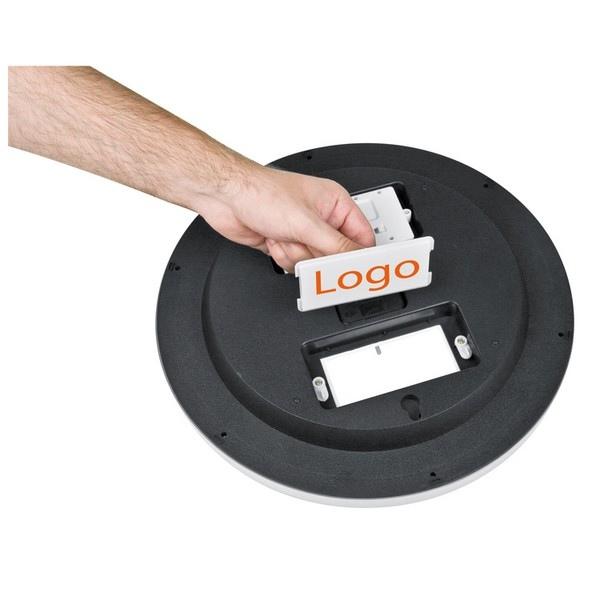 Horloge analogue digitale cadeau publicitaire en vente - Horloge murale personnalisable ...