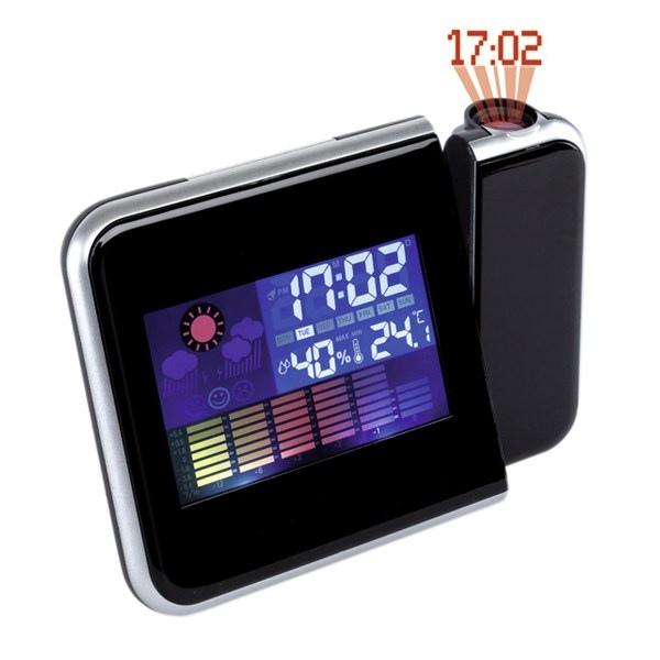 Horloge avec personnalisation  de bureau avec projection colour