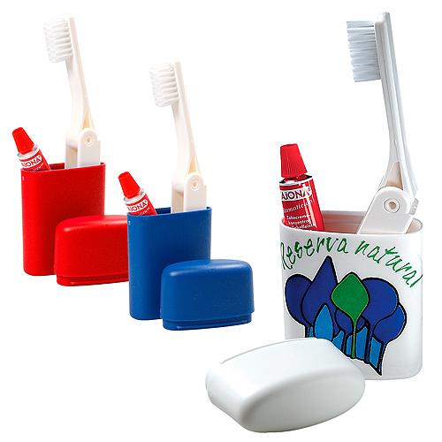 kit de brossage de dents voyage cadeau publicitaire en. Black Bedroom Furniture Sets. Home Design Ideas