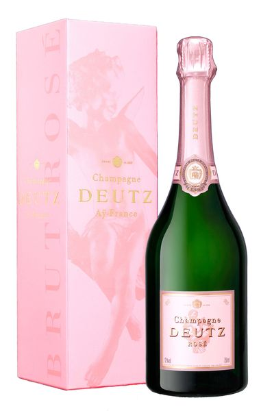 Champagne avec logo
