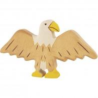 Aigle en bois 9cm