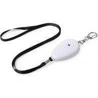 Alarme personnelle logotée avec cordon