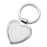 Porte-clés coeur en métal