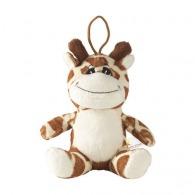 Animal Friend girafe logotée en peluche