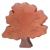 Arbre d'automne en bois
