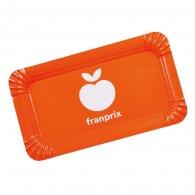 Assiette en carton personnalisable rectangulaire