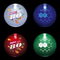 Badge personnalisé lumineux 1 led