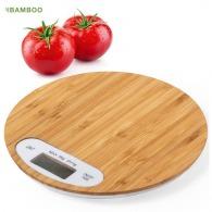 Balance personnalisable avec plateau bambou