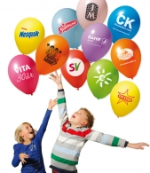 Ballons de baudruches ou ballons latex avec marquage