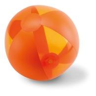 Ballon de plage personnalisable translucide 24cm