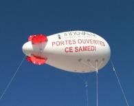Ballon dirigeable personnalisable 4m