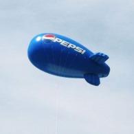 Ballons dirigeables avec personnalisation