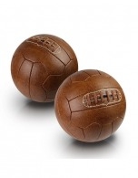 Ballon football logoté old fashion PU simili