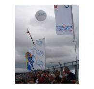 Ballon gonflable à l'hélium 250cm