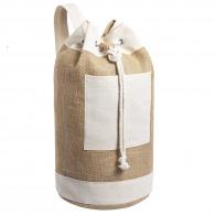 Small duffel bag - Baluchon en jute