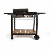Barbecue personnalisable gaz gril et plancha
