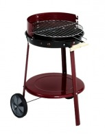 Barbecue personnalisable rond mobile