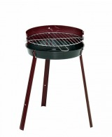 Barbecue personnalisable rond