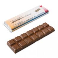 Barre de chocolat logotée 75g