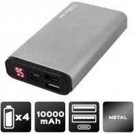 Batería metálica delgada de 10.000 mah