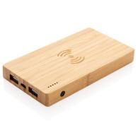 Batterie bambou 4000 mah avec induction 5w