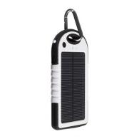 Batterie de secours logotée solaire 5000mAh