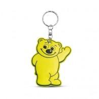 Porte-clés personnalisé ours réfléchissant