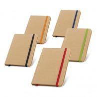 Bloc-notes personnalisé à couverture rigide - 80 feuilles non lignées