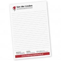 Bloc-notes personnalisable a4 classique en papier recyclé