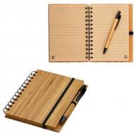 Bloc-notes A5 en bambou avec stylo