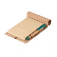 Bloc-notes bambou avec stylo