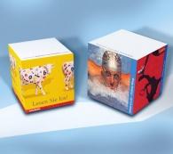 Bloc-notes cubes promotionnel