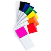 Bloc-notes magnétique coloré