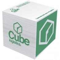Bloc-notes mémo cube 10x10x10cm