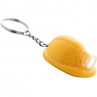 Porte-clés lampe casque de chantier personnalisé