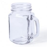 Bocal en verre personnalisable avec poignée