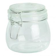 Tarro de cristal Clicky, aprox. 500 ml