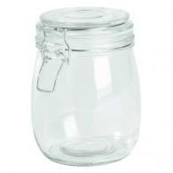 Tarro de cristal Clicky, aprox. 750 ml