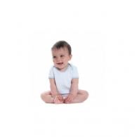 Body bébé publicitaire contrasté manches courtes Larkwood