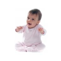 Body bébé personnalisable contrasté manches longues Larkwood