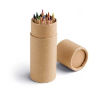 Boîte 12 crayons de couleur personnalisables
