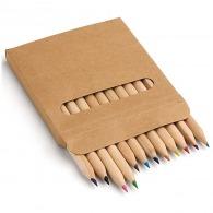 Boîte 12 crayons de couleur publicitaires
