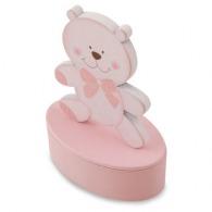 Boîte à dents logotée fillette - ourson